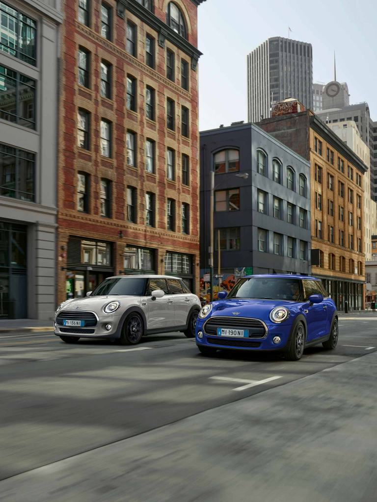 MINI 3 E 5 PORTE BAKER STREET EDITION.