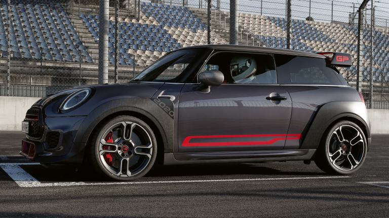 MINI John Cooper Works GP – Stripes laterali – chili red